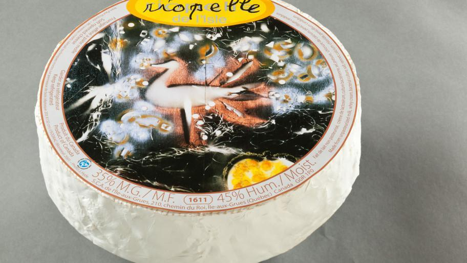 Riopelle cheese label